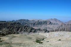 Montanhas jordanas Foto de Stock Royalty Free