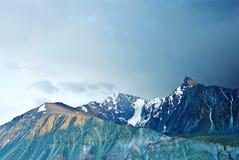 Montanhas majestosas Fotografia de Stock