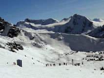 Montanhas majestosas Fotografia de Stock Royalty Free