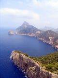Montanhas Mallorca da vista, Spain Foto de Stock Royalty Free