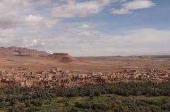 Montanhas marroquinas do deserto Fotos de Stock