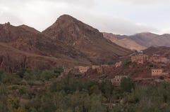 Montanhas marroquinas do deserto Imagens de Stock