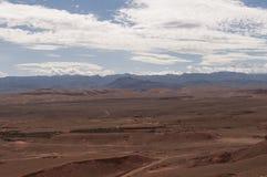Montanhas marroquinas do deserto Imagens de Stock Royalty Free