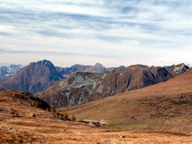 Montanhas Mimetic Fotos de Stock Royalty Free