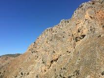 Montanhas na Creta Fotos de Stock Royalty Free