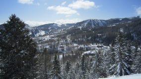 Montanhas na distância Imagem de Stock