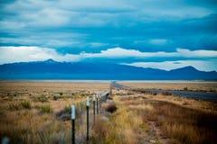 Montanhas na distância Foto de Stock Royalty Free