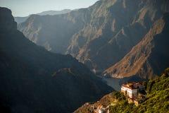 Montanhas na parte ocidental da ilha de Gran Canaria Foto de Stock