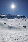 Montanhas na primavera Fotos de Stock