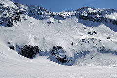Montanhas na primavera Imagem de Stock Royalty Free