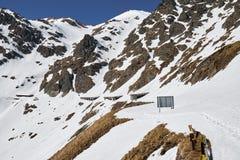Montanhas na primavera Foto de Stock Royalty Free