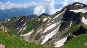 Montanhas na região de Sochi Fotos de Stock Royalty Free