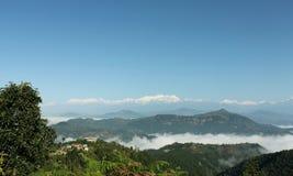 Montanhas na selva imagem de stock royalty free