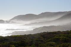 Montanhas nebulosas em África do Sul Foto de Stock Royalty Free