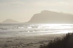 Montanhas nebulosas em África do Sul Fotografia de Stock Royalty Free