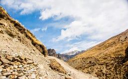 Montanhas, Nepal Fotos de Stock