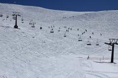 Montanhas nevadas Foto de Stock Royalty Free