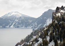 Montanhas nevado Fotos de Stock Royalty Free