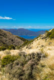 Montanhas no cruzamento alpino de Tongariro Imagens de Stock Royalty Free