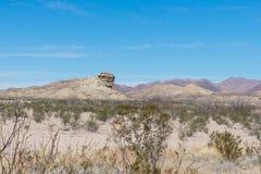 Montanhas no deserto Foto de Stock Royalty Free