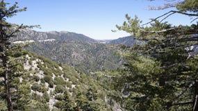 Montanhas no estado de Califórnia Fotos de Stock