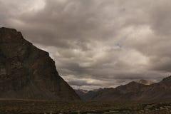 montanhas no ladakh de Leh Foto de Stock
