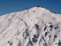 Montanhas no lago Achensee em Áustria Fotos de Stock