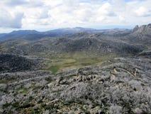 Montanhas no parque nacional Imagem de Stock Royalty Free