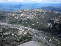 Montanhas no parque nacional Fotografia de Stock