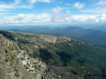 Montanhas no parque nacional Foto de Stock Royalty Free