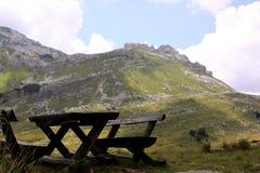 Montanhas no parque nacional de Durmitor, Montenegro Foto de Stock Royalty Free