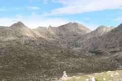 Montanhas no platô de qinghai tibet Imagens de Stock Royalty Free