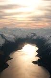 Montanhas norueguesas Fotografia de Stock Royalty Free