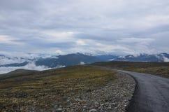 Montanhas norueguesas Imagem de Stock