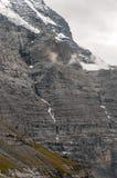 Montanhas nos alpes suíços Fotos de Stock Royalty Free