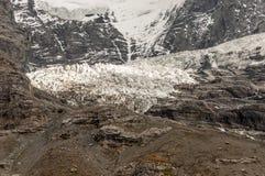 Montanhas nos alpes suíços Fotografia de Stock Royalty Free