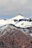 Montanhas o Arizona da superstição, floresta nacional de Tonto, junção de Apache, o Arizona, Estados Unidos imagem de stock