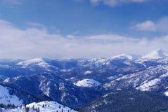 Montanhas ocidentais de Sayan. fotos de stock royalty free