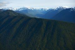 Montanhas olímpicas foto de stock royalty free