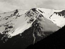 Montanhas olímpicas Fotografia de Stock
