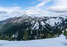 Montanhas olímpicas Fotos de Stock Royalty Free