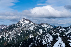 Montanhas olímpicas Imagem de Stock Royalty Free