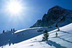 Montanhas orientais de Sayan. Altai. Fotografia de Stock Royalty Free
