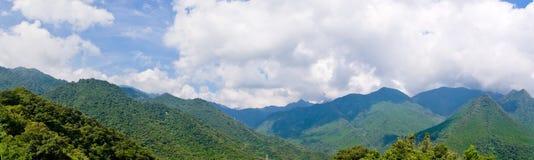 Montanhas panorâmicos Imagens de Stock