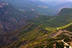 Montanhas perto da garganta de Taskim em Armênia Fotos de Stock Royalty Free