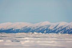 Montanhas perto de Baikal Foto de Stock Royalty Free