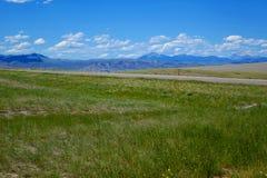Montanhas perto de Dillion, Montana imagem de stock royalty free