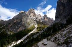Montanhas/picos da dolomite sobre 3000 medidores Imagens de Stock