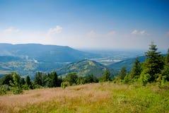 Montanhas polonesas Foto de Stock Royalty Free