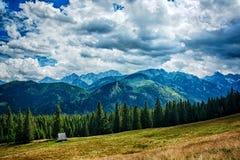 Montanhas polonesas imagens de stock royalty free